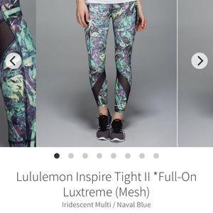 Lululemon Inspire Tight II